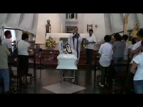 2011-10-01 [Requiem Mass, Grecilda Orticio Cabelin - St. Andrew's Church, Makati City] [1 of 4]