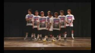 Ministry of Dance Boys Crew - Gonna Make you Sweat!!