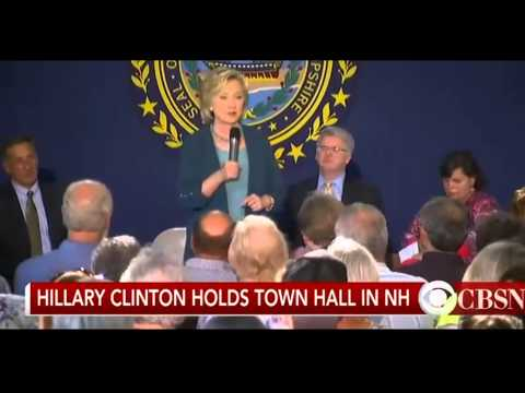 Hillary Clinton New Hampshire event / Drug addiction is an epidemic 9/17/2015