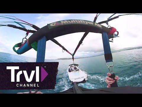 Parasailing in Jamaica - 360 video