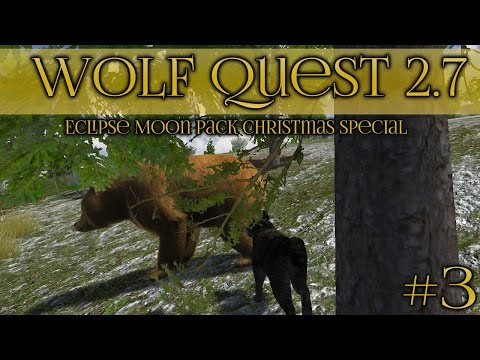 Three Bears in the Wolf Den!! 🐺 Wolf Quest 2.7 Christmas Special || Episode #3