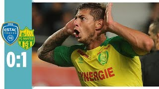 ES Troyes AC - FC Nantes 0:1 / Dank Sala siegt Nantes In Unterzahl