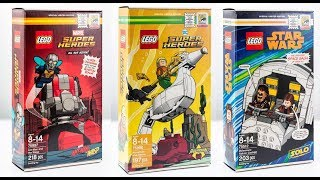 Lego SDCC 2018 Exclusive sets - Marvel, DC and Star Wars