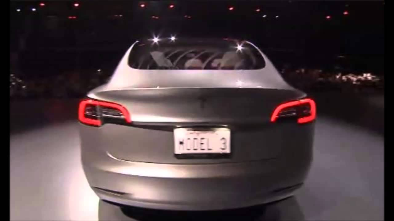 FIRST LOOK! 2017 Tesla Model 3 Exhaust Sound Start Up and ...