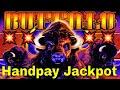 💥Handpay Jackpot💥  Buffalo Slot Machine Bonus MEGA BIG WIN. Live Play with Handpay Alert