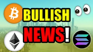 MASSIVE CRYPTOCURRENCY NEWS YOU MAY HAVE MISSED!! [ETHEREUM, SOLANA, BITCOIN UPDATE]