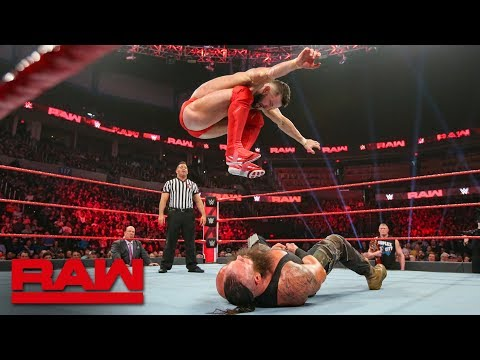 Finn Bálor vs. Braun Strowman: Raw, Jan. 21, 2019