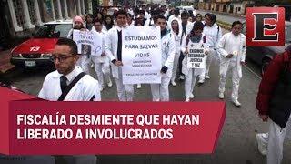 Marchan en Veracruz para exigir justicia para Valeria Cruz, hija de diputada de Morena