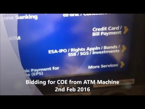 Bidding for Certificate of Entitilement COE 2 Feb 2016 Video