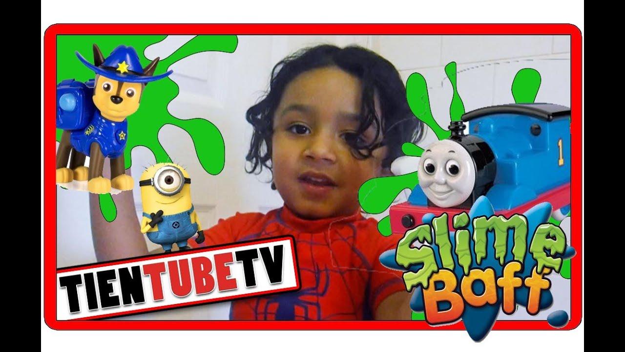 Like Toy Tv : Toys thomas the tank paw patrol super slime bath