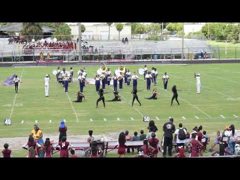 Boynton Beach High School Marching Band  (BOTB) 2018 @ Palm Beach Lakes High