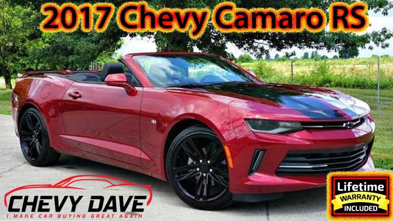 2017 Chevy Camaro Rs Garnet Red Color Review