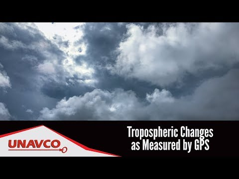 Tropospheric Changes as Measured by GPS in the Southwestern United States