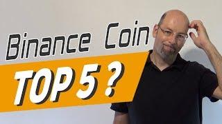 Binance Coin - Bald ein Top 5 Coin?