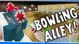 Minecraft Xbox - BOWLING ALLEY!! - Building Time! [#35]