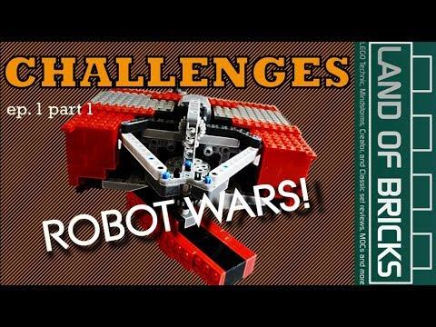 Land Of Bricks Building Challenges E1P1 - Fighting Robots!