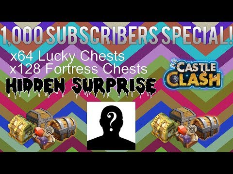 Castle Clash: 1,000 Subscribers Special!