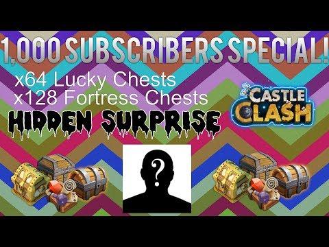 Castle Clash: 1,000 Subscribers Special!