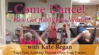A Chair Yoga Dance from Australia! Kate Regan brings Joy to the Ladies!