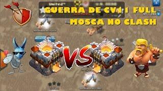 Ataques de CV11 full! Guerra contra Brasil Team! Clash of Clans