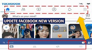 HOW TO UPDETE FACEBOOK NEW VERSION 2019