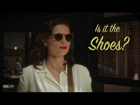 Agent Carter ||humor|| Is it the shoes?