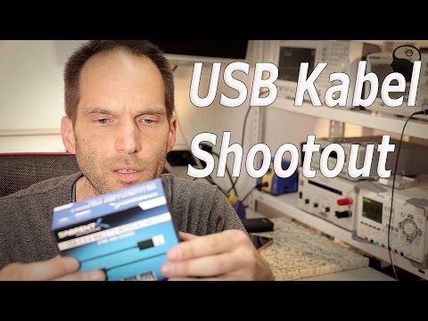 """[Test] USB (Lade)Kabel Vergleich - Die """"Strom-Schnelle""""..."""