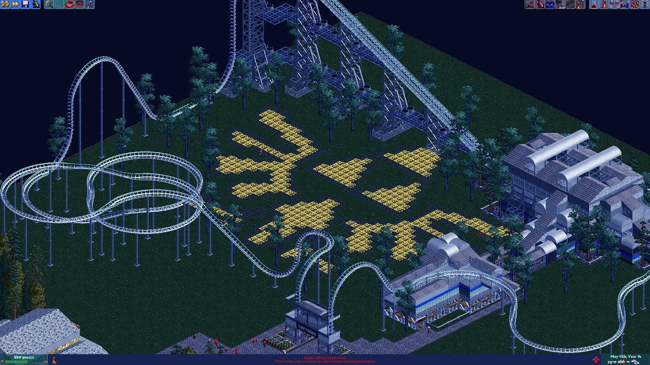 RCT2: The 8-Bit Park #6 - Flight of the Loftwing (Part 1)