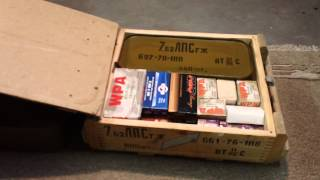 Mosin Nagant Ammo Crate For 7.62x54r Ammo Variations/types.