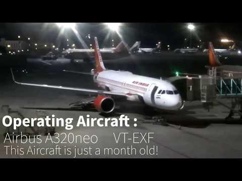 AIR INDIA [A320 NEO] AI-603 MUMBAI TO BANGALORE