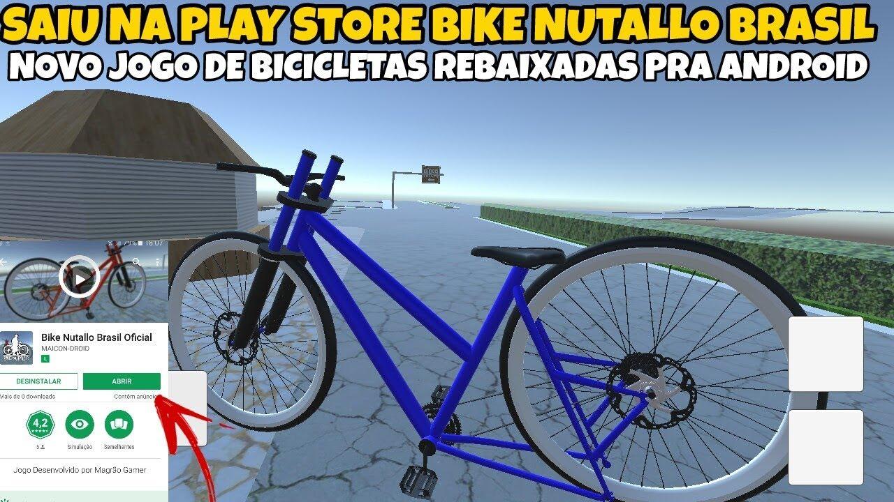 Saiuu Na Play Store Bike Nutallo Brasil Novo Jogo De Bike