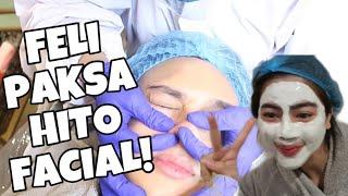 FELI PAKSA HITO FACIAL SAMPE NANGIS! | Felicya Angellista
