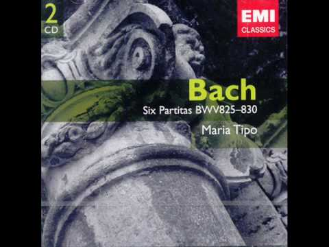 Maria Tipo: Partita No. 1 in B flat, BWV 825 - Prelude (Bach)