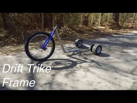 Building the Drift Trike Frame