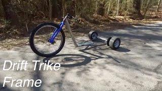 building the drift trike frame