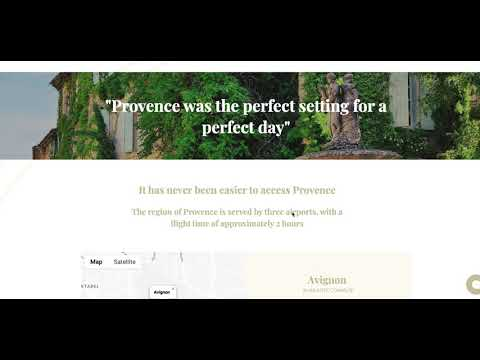Website For a Wedding Planner