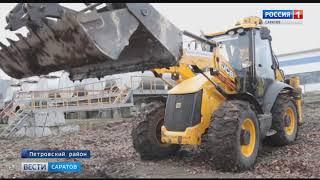 Настоящий строительный городок развернулся в Петровске