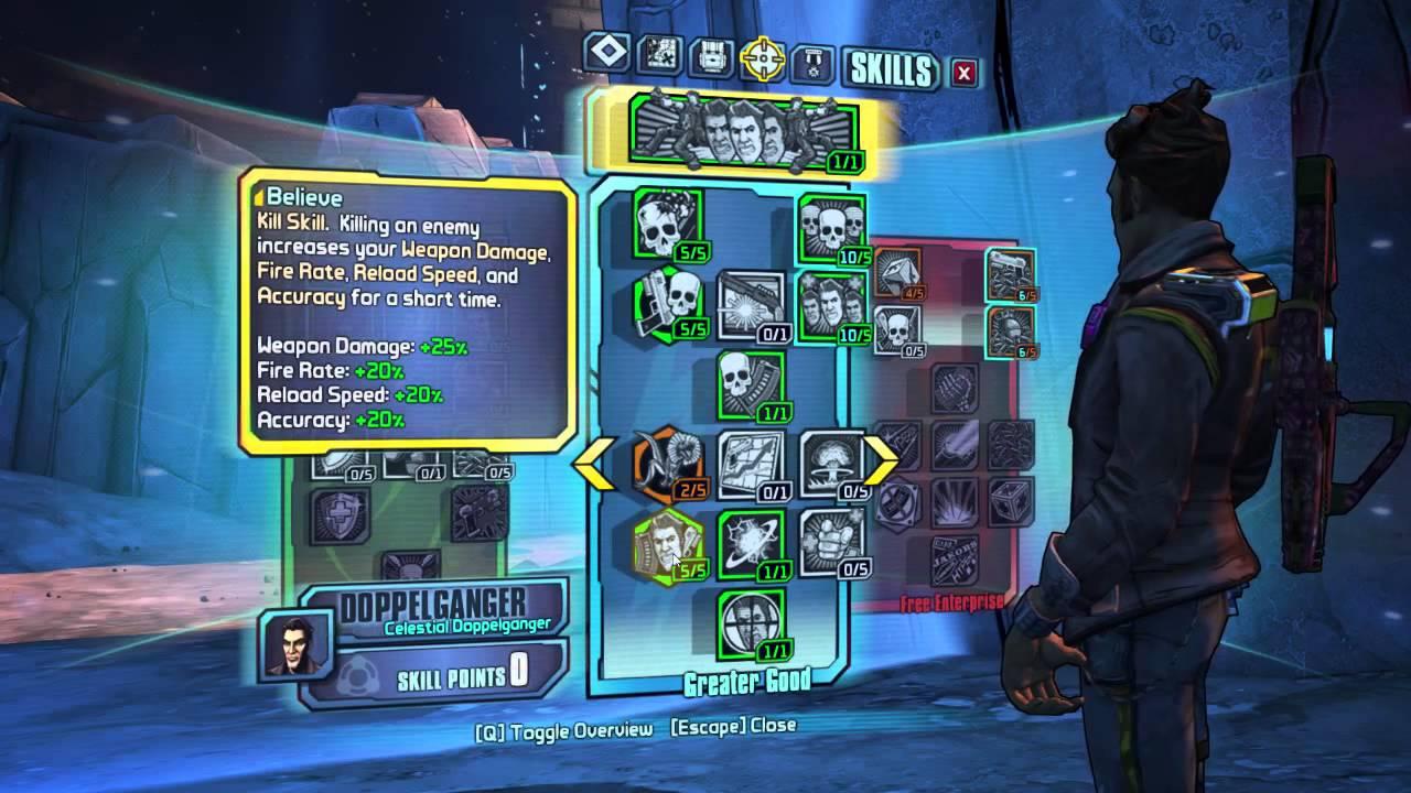 Best Jack Doppelganger Build