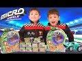 MICRO WHEELS! Mini Motorized Race Cars! Stunt Pack & Mystery Box UNBOXING!