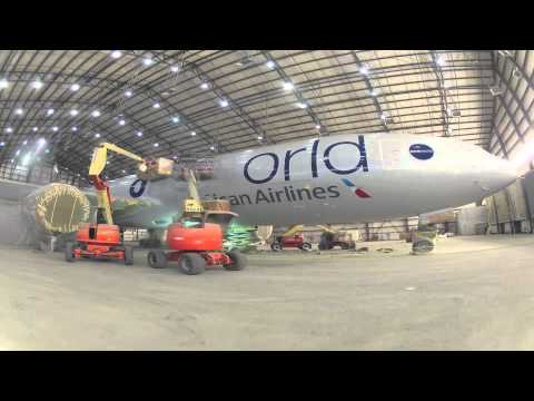 The First Plane in oneworld and #newAmerican Livery