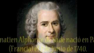Biografia del Marqués de Sade