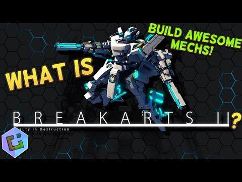 What is Break Arts II? (Build & Race Mechs!)