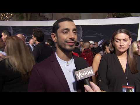"Venom: Riz Ahmed ""Carlton Drake"" Red Carpet Premiere Movie Interview"