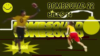 BombSquad Vs Bills Highlights || Flag Football