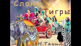 """Итальянский Цирк """"Слоны и Тигры"""" 15.09.2018 Нижний Тагил"""
