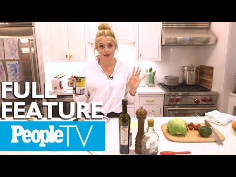 Smokey Salmon & Avocado Wedge Salad, Tours Her Kitchen & Home | PeopleTV
