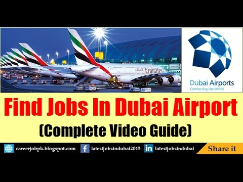How to Find Jobs in Dubai Airport 2017