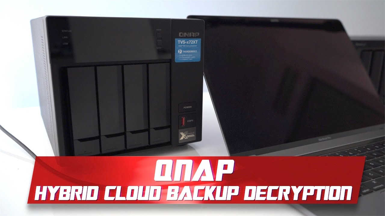 QNAP Hybrid Backup Sync Station | Decryption Guide