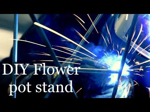 DIY Flower pot stand | How to make