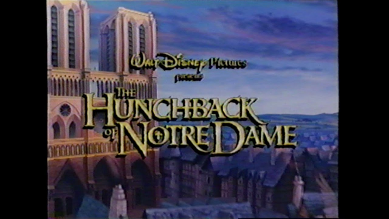 the hunchback of notre dame movie trailer vhs 1996 youtube